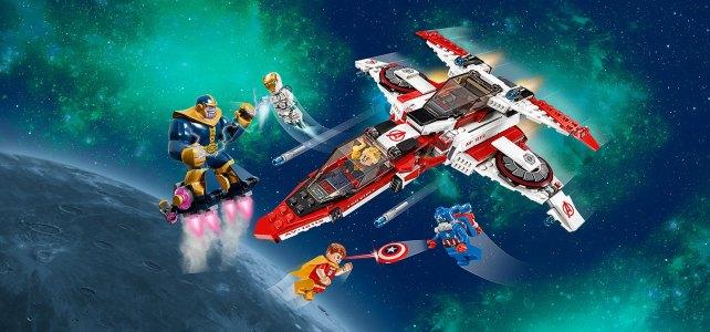 REVIEW LEGO 76049 Marvel – La mission spatiale dans l'Avenjet