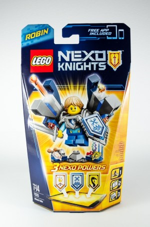 Review LEGO Nexo Knights 70333 Ultimate Robin 01