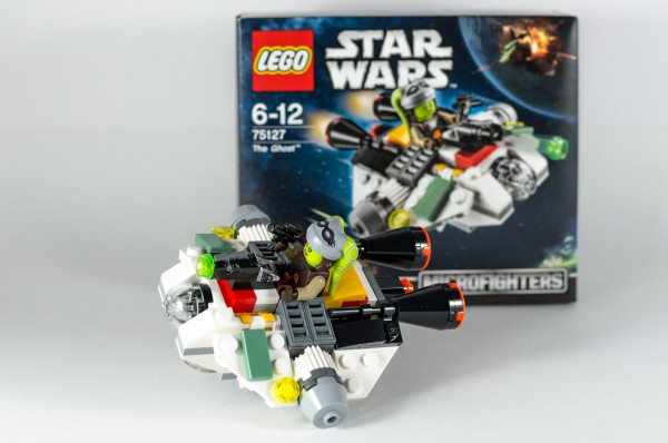 Review LEGO Star Wars 75127 The Ghost 16