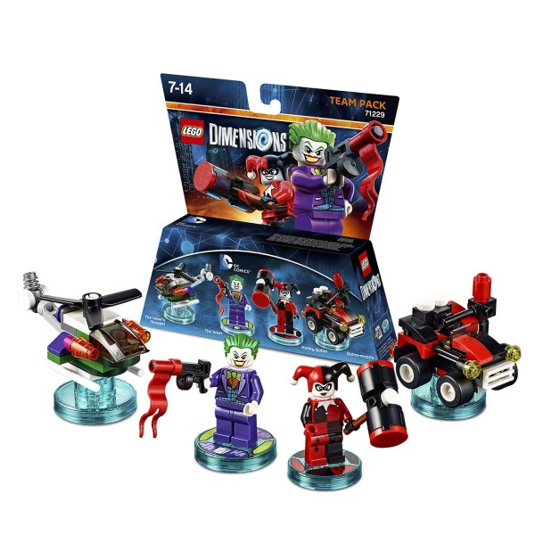 Team Pack 71229 Joker & Harley Quinn (DC Comics)