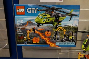 LEGO City 60123 Volcano Supply Helicopter 1