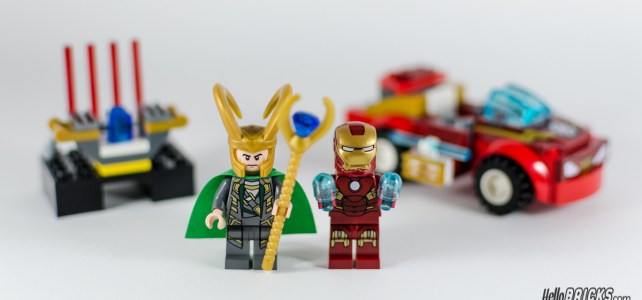REVIEW LEGO Juniors 10721 Iron Man vs Loki