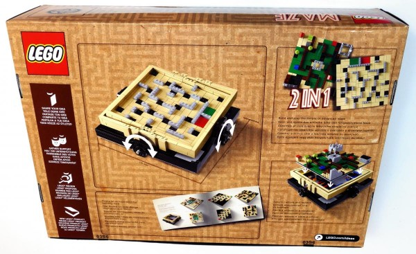 LEGO Ideas 21305 Maze review box back