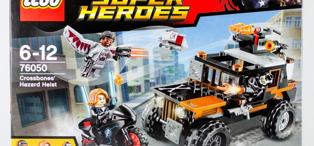REVIEW LEGO 76050 Marvel Crossbones' Hazard Heist (HelloBricks)