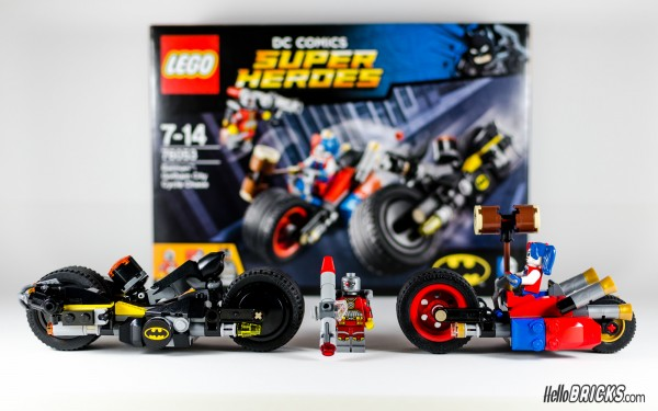 REVIEW LEGO 76053 Batman Gotham City Cycle Chase HelloBricks