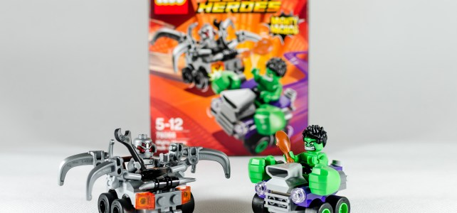 REVIEW LEGO 76066 Mighty Micros Hulk vs Ultron