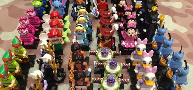 LEGO Disney Collectible Minifigures distribution