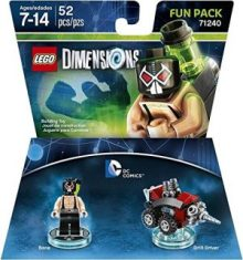 LEGO Fun Pack 71240 DC Comics Bane