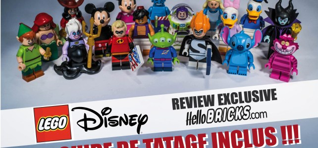 Lego Disney Minifigurines