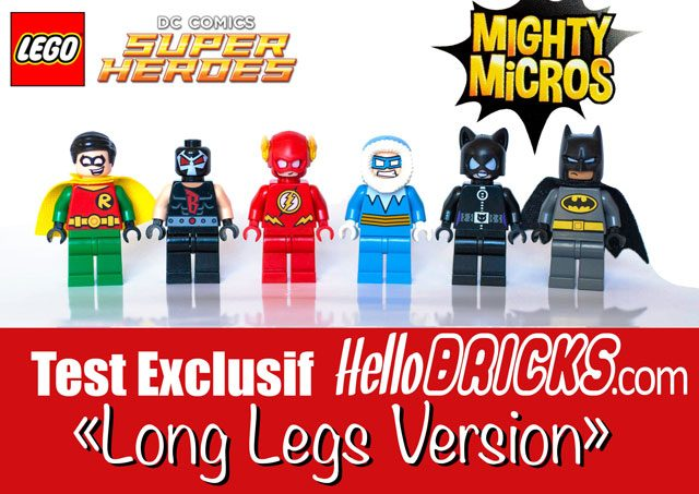 Mighty Micro DC Comics Long legs