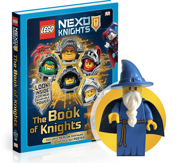 The Book of Knights minifig exclusive livre LEGO Nexo Knights