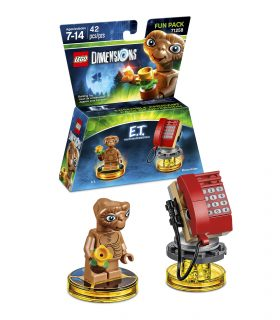 LEGO Dimensions Fun Pack 71258 E.T. The Extraterrestrial