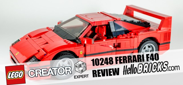 REVIEW LEGO 10248 Ferrari F40 Creator Expert