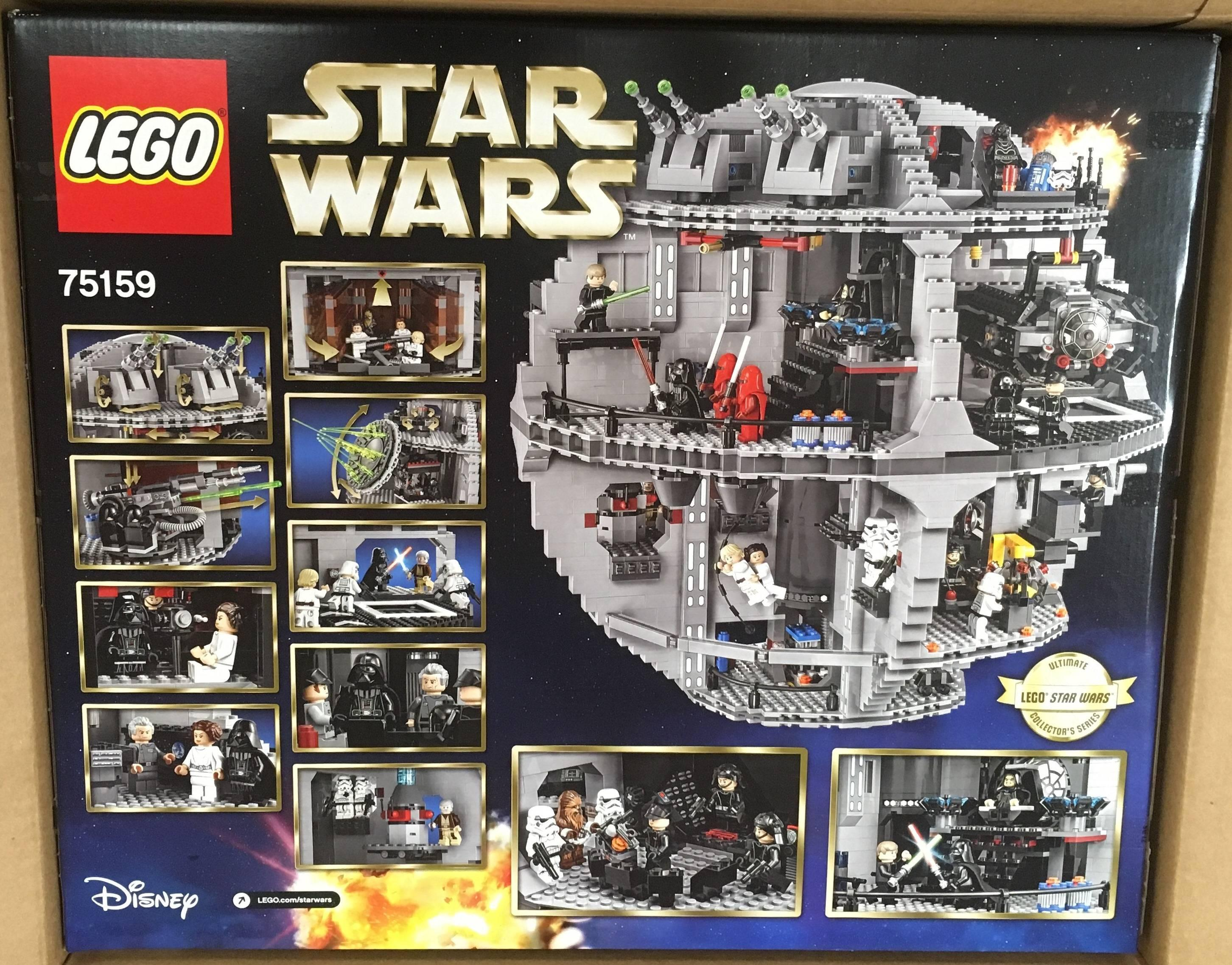 Product Features LEGO Star Wars building toys are compatible with all lego construction.