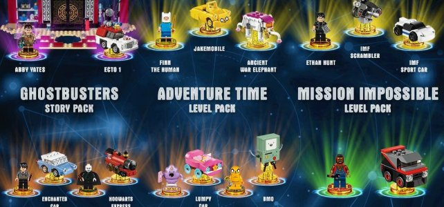 LEGO Dimensions Year 2 : la sixième vague de packs est disponible