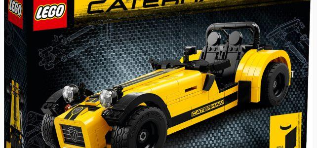 LEGO Ideas 21307 Caterham Seven 620R : les visuels officiels
