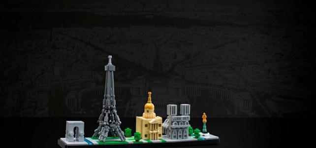 LEGO Architecture skyline Paris