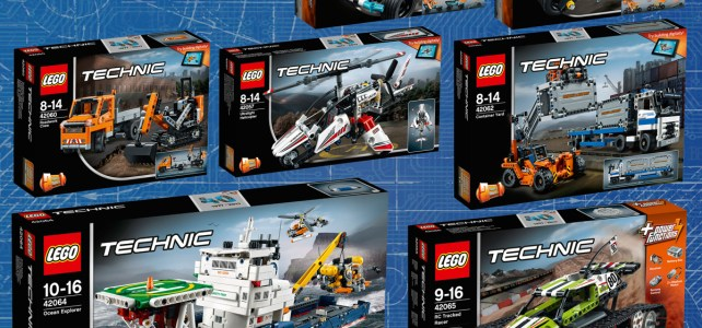 Nouveautés LEGO Technic 2017