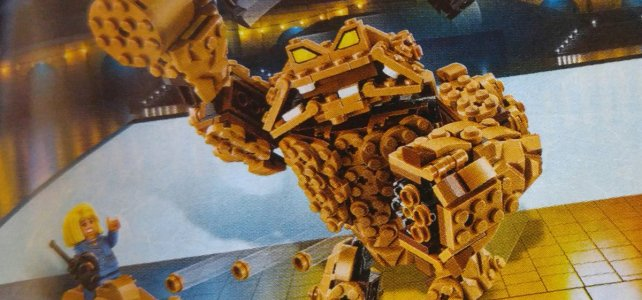 The LEGO Batman Movie 70904 Clayface Splat Attack