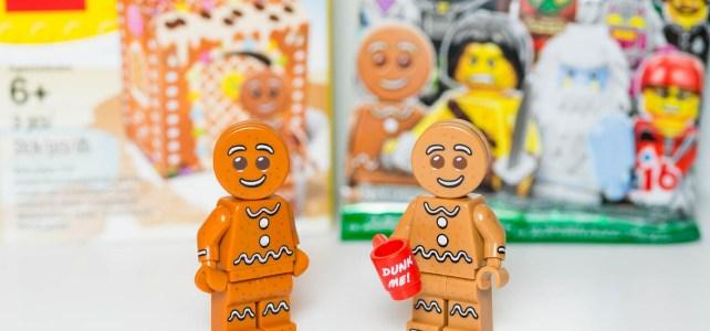 Comparaison Gingerbread Man 5005156 minifig à collectionner