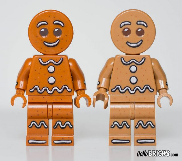 Gingerbread Man 5005156 CMF comparison