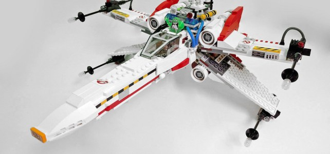 Mashup X-Wing Ghostbusters