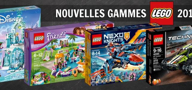Nouvelles gammes LEGO 2017