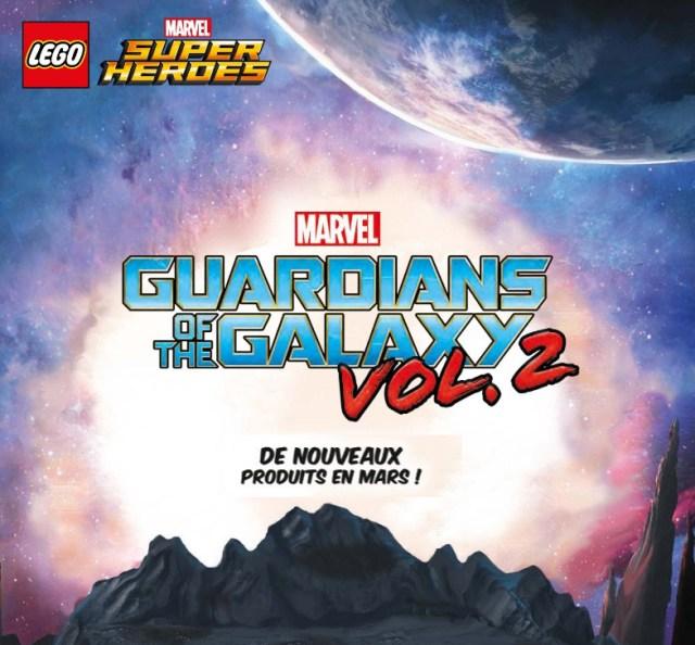 Nouveautés LEGO 2017 Marvel Guardians of the Galaxy 2