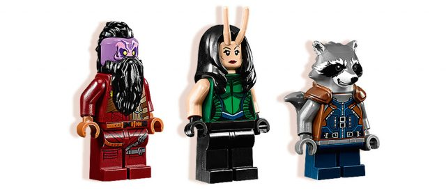 LEGO Guardians of the Galaxy vol.2 minifigs 76079