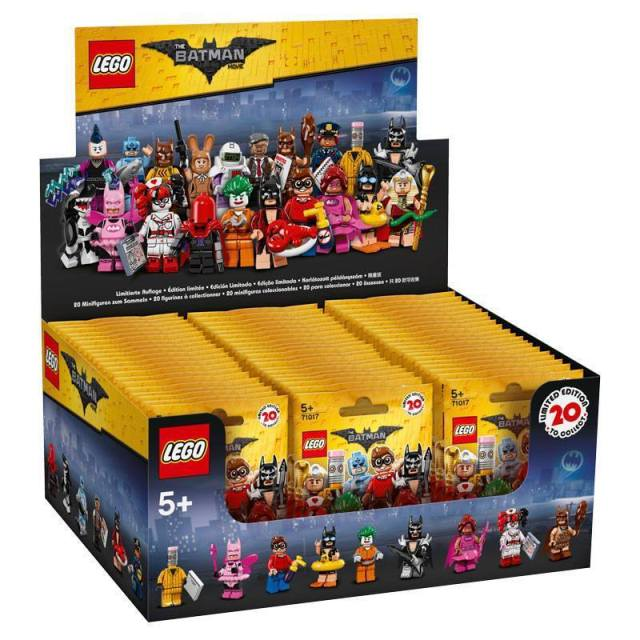 LEGO 6175009 Minifigs à collectionner 71017 The LEGO Batman Movie