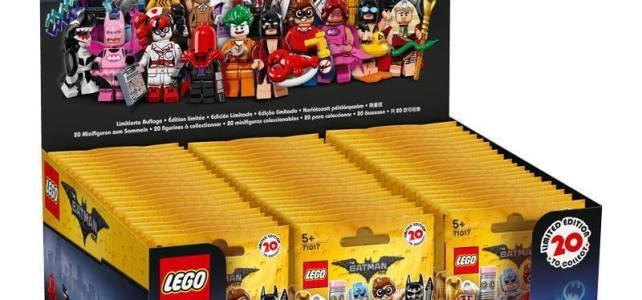 Minifigs à collectionner 71017 The LEGO Batman Movie