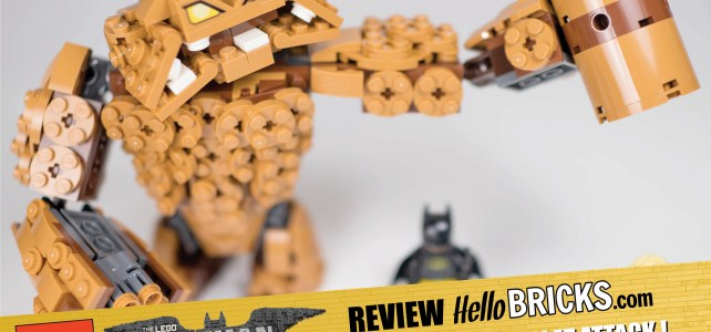 REVIEW LEGO 70904 - The LEGO Batman Movie - ClayFace Attack