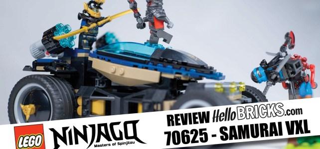 REVIEW LEGO Ninjago 70625 Samuraï VXL