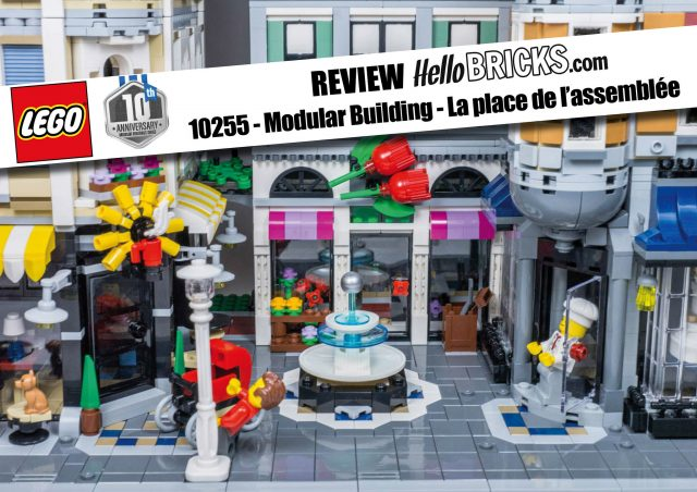 Review LEGO 10255 - Modular Building - Assembly Square