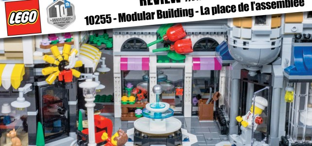 REVIEW LEGO 10255 – Modular Building – Assembly Square