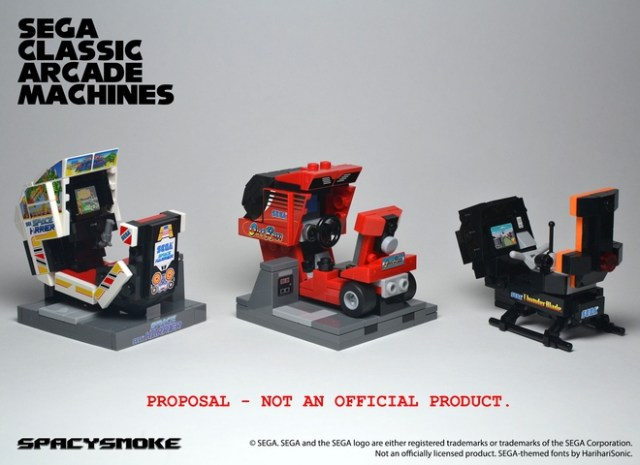 LEGO Ideas SEGA Classic Arcade Machines