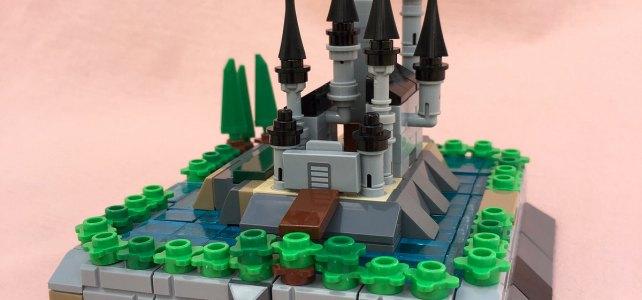 LEGO micro castles