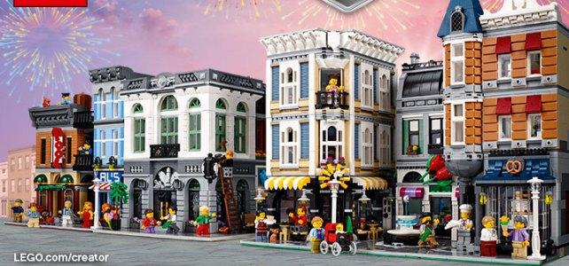 LEGO : une vidéo pour les 10 ans de la gamme Modular
