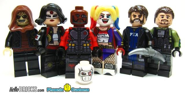 Interview Phoenix Customs Hellobricks (minifigs custom)