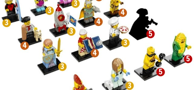 LEGO 71018 Collectible Minifigures Series 17 distribution