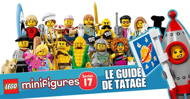 LEGO 71018 Collectible Minifigures series 17 - Guide de tatage HelloBricks