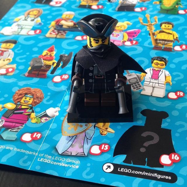 LEGO 71018 Collectible Minifigures Series 17 Highwayman