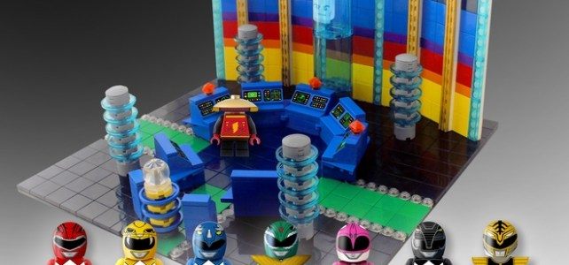 LEGO Ideas 10000 votes Power Rangers