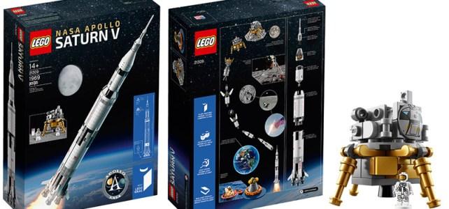 LEGO Ideas 21309 NASA Apollo Saturn V : l'annonce officielle