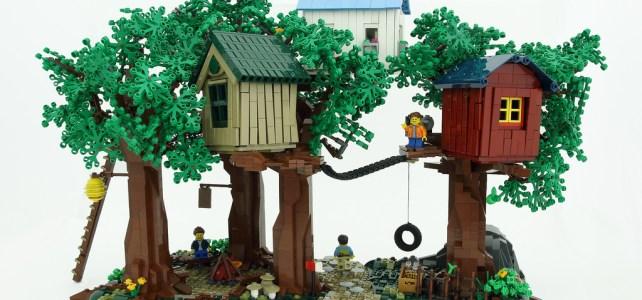 Des cabanes dans les arbres : sacré rêve de gosses !