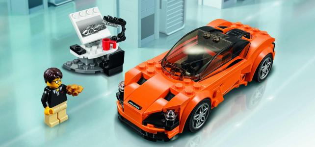 LEGO Speed Champions 75880 McLaren 720S : les visuels officiels