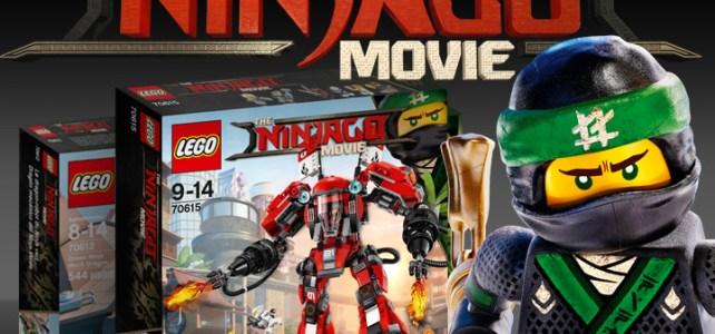 The LEGO Ninjago Movie sets
