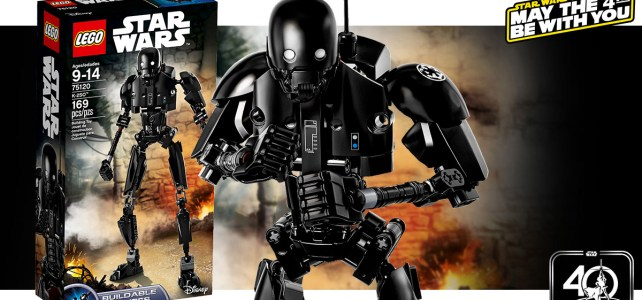 Star Wars May the 4th : -30% aujourd'hui sur le set LEGO 75120 K-2SO