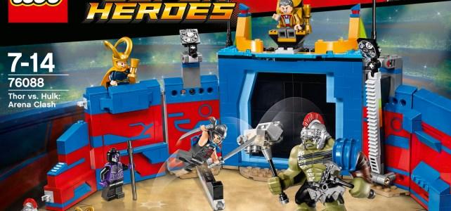 LEGO 76088 Thor Ragnarok Thor vs Hulk Arena Clash