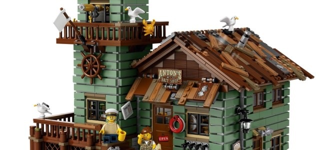 LEGO Ideas 21310 Old Fishing Store : l'annonce officielle